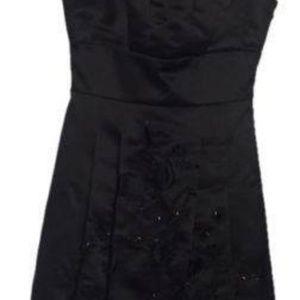 BCBG MAXAZRIA Woven Dress BLACK Size 0